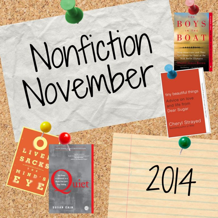 Nonfiction November Week 3: Diversity & Nonfiction (Transgender)