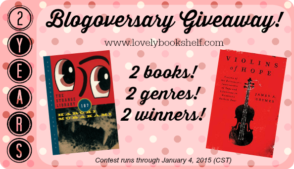2-Year Blogoversary Giveaway!