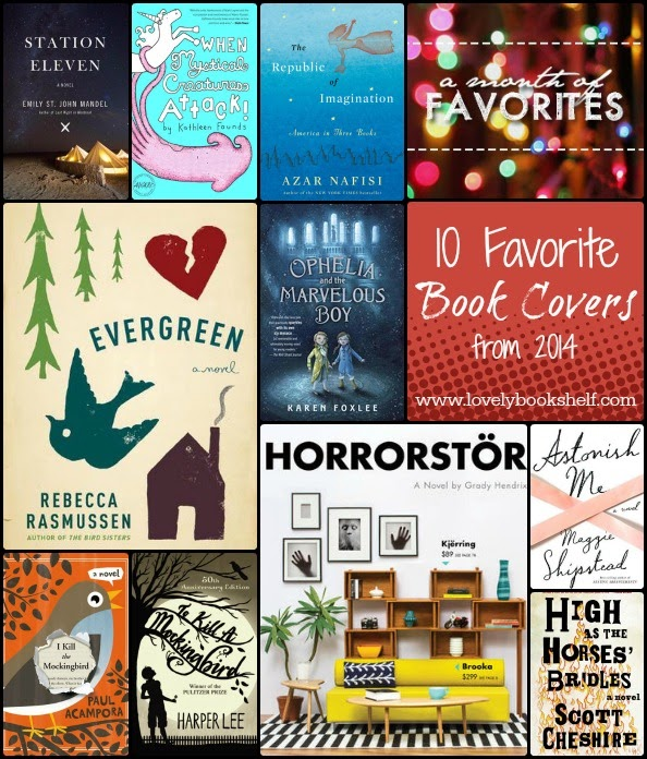 10 Favorite Book Covers in 2014