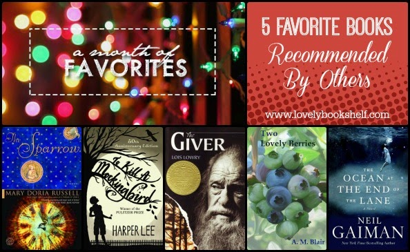 5 Favorite Books Recommended By Others