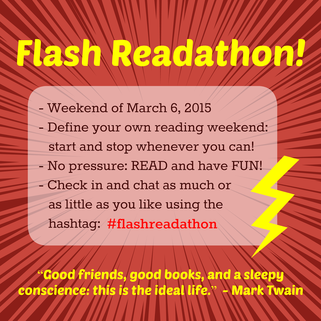 Flash Readathon Wrap Up