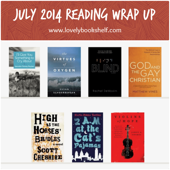 July 2014 Reading Wrap Up