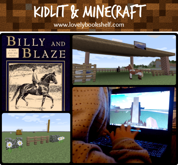 KidLit & Minecraft Review: Billy and Blaze