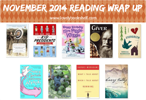 November 2014 Reading Wrap Up
