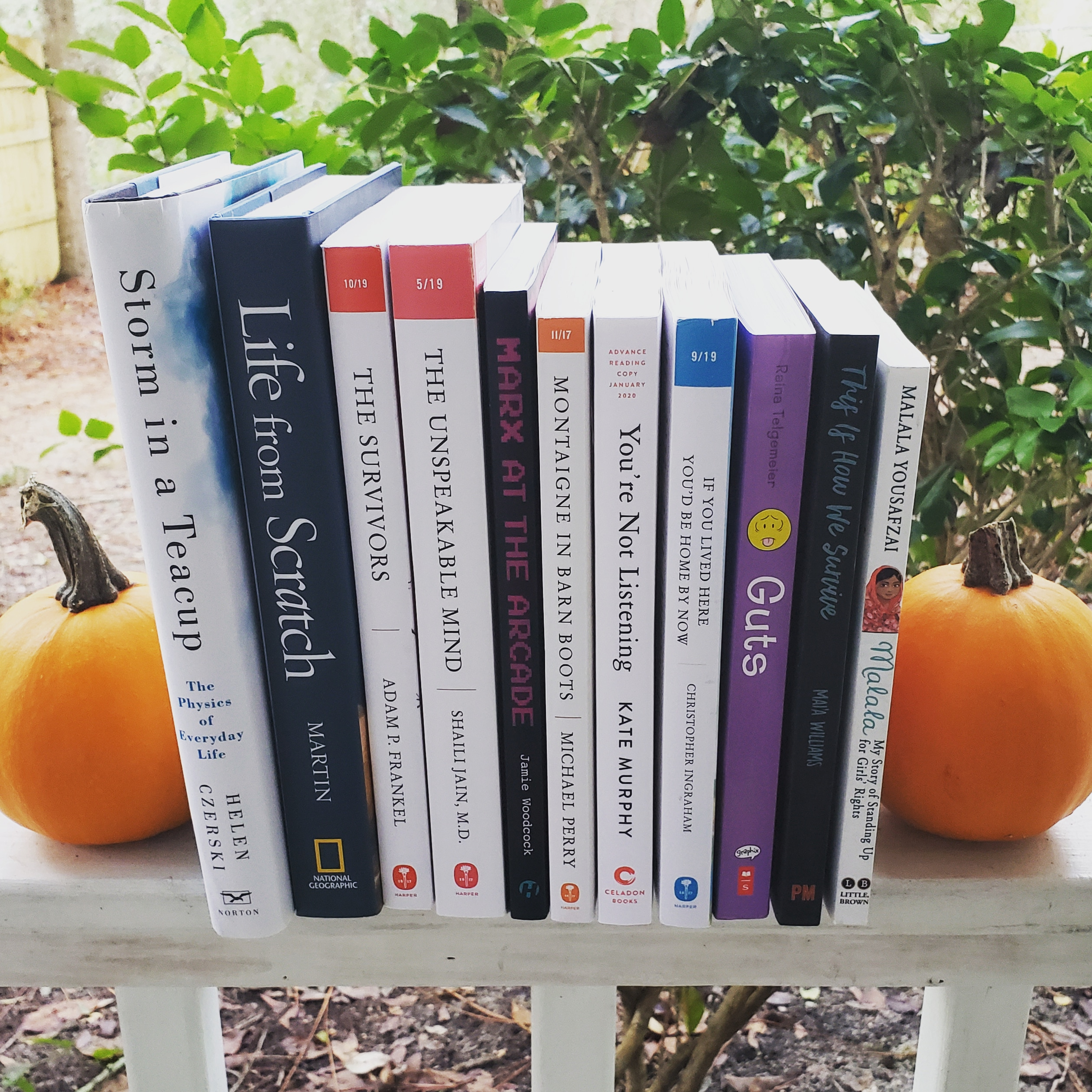 Nonfiction November TBR