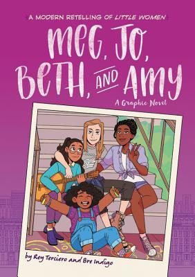 Meg, Jo, Beth, and Amy by Rey Terciero and Bre Indigo